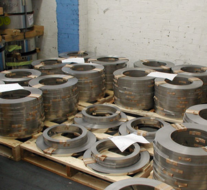 Stock and warehousing at Quest 4 Alloys