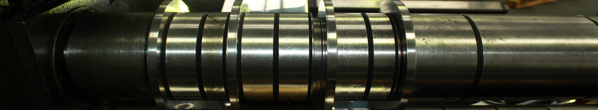 Nickel Alloys, Titanium and Stainless Steel axles
